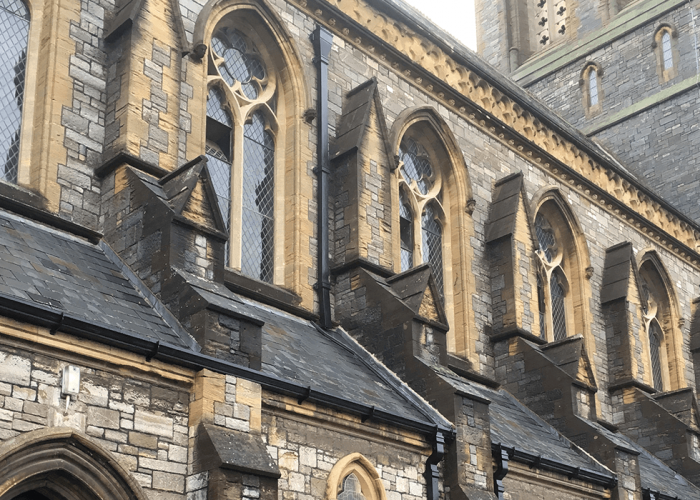 Cast Iron Gutters and Downpipes