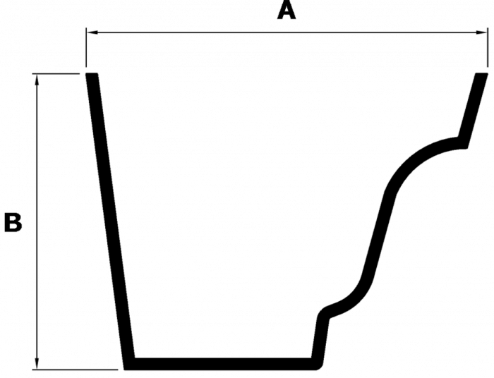 Legacy No 46 M Ogee Labelled Profile