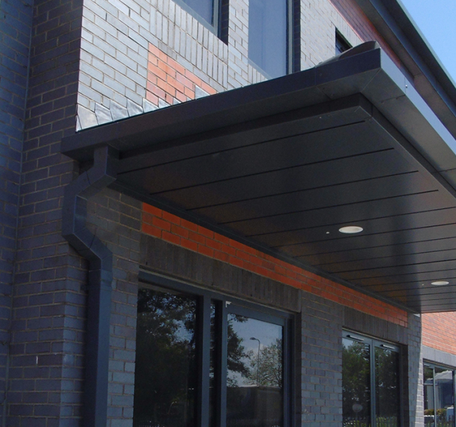Llanishen Offices Door Canopy