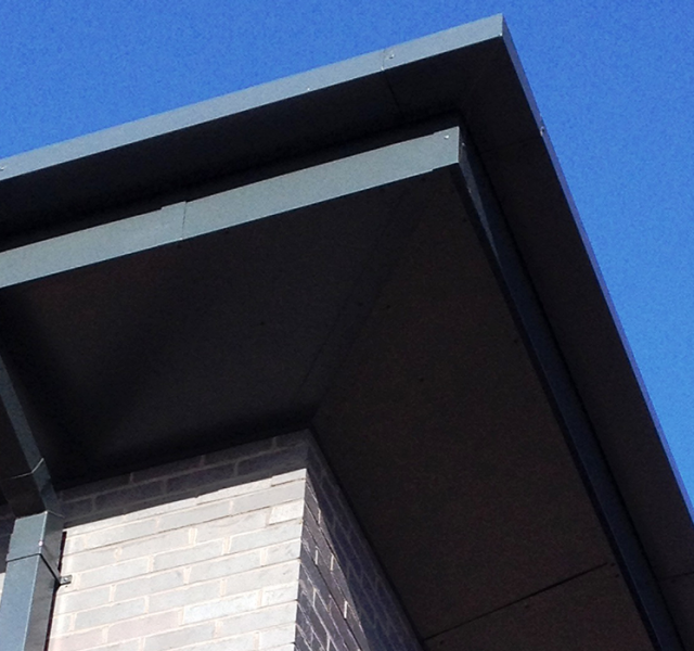 Llanishen Offices Fasica and Soffit