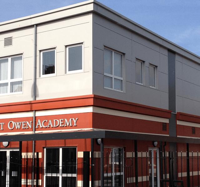 Robert Owen Academy Trueline Bespoke Fabrications