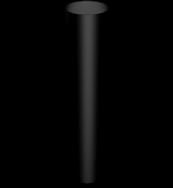Aluminium Downpipe-Round Flushjoint Pipe Length