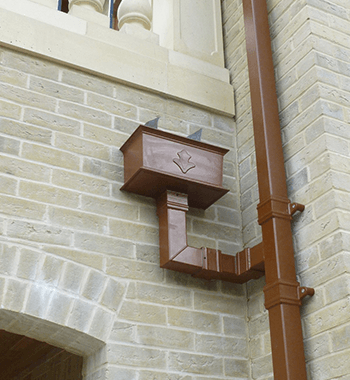 Colonnade Cast Aluminium hopper Head