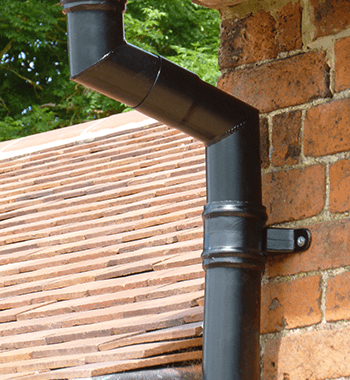 Colonnade Cast Aluminium Down pipes