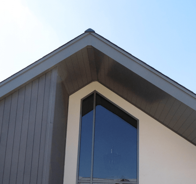 Hurst green arp metal roofline products for Soffit and fascia calculator