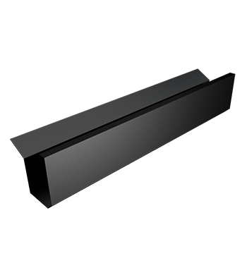 Legion Pressed Aluminium Box Gutter with Apron — ARP - Metal