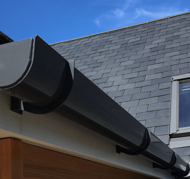 Case Study Self Build Chichester Sentinel Deepflow Gutter
