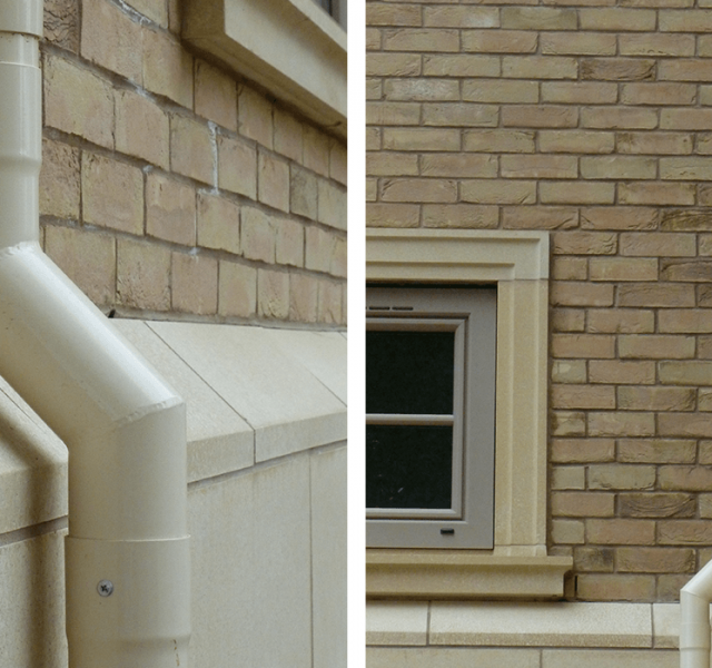 Case Study Self Build Claybrooke Magna - Colonnade Downpipes