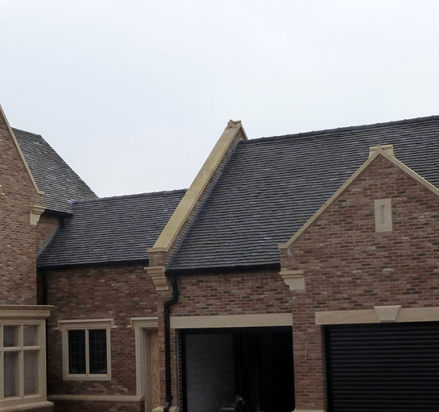 Case Study Self Builders Legacy Moulded Ogee Gutters