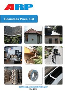 ARP Seamless Price List