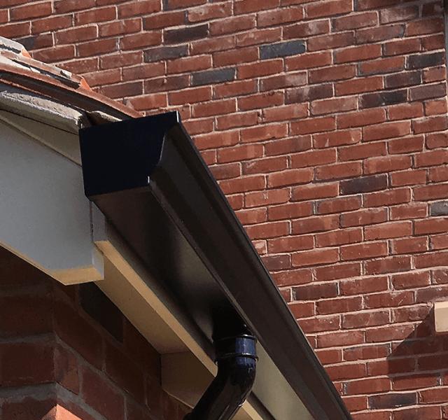 Shingler Homes - Mustang Seamless Aluminium Guttering