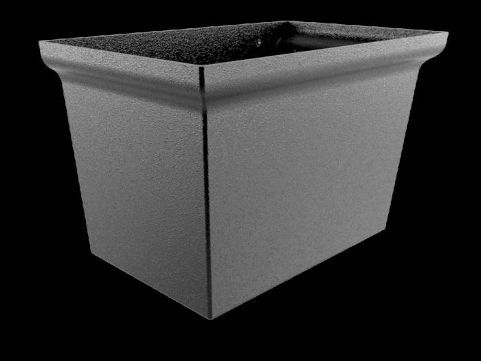 Aluminium Hopper-Centurian Large
