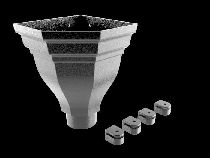 Aluminium Hopper-Merus (Corner) Large v1.1