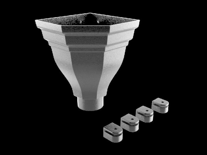 Aluminium Hopper-Merus (Corner) Small v1.1